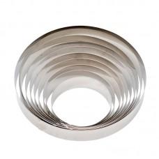 Apvalūs konditeriniai žiedai 6cm aukščio