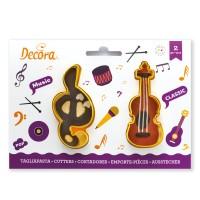 Sausainių formelės G raktas ir smuikas