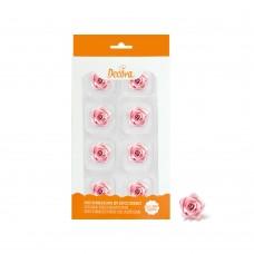 Cukrinės dekoracijos - mažos rožės