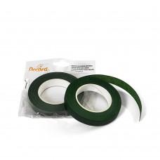 Floristinė juostelė,  žalia,12mm, 27metrai