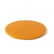 Apvalūs orandžiniai padėkliukai tortui 12mm storio
