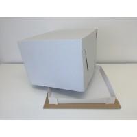 Dėžė tortui. 29,5 x 29,5x 23cm  -2kg