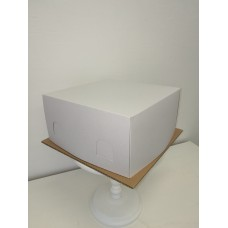 Dėžė tortui 1,5kg, 23.5x23,5x15cm