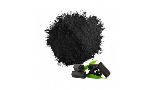 Natūralūs juodos spalvos dažai (anglies milteliai) MIXIE