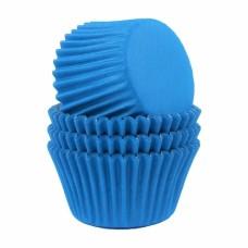 Kepimo krepšeliai keksiukams, mėlynos spalvos 30vnt