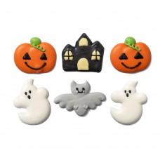Cukrinės dekoracijos Helovino fantazija