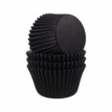 Kepimo krepšeliai keksiukams, juodos spalvos 30vnt