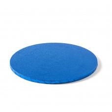 Apvalūs mėlyni padėkliukai tortui 12mm storio