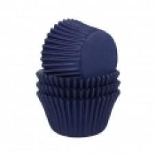 Kepimo krepšeliai keksiukams, tamsiai mėlynos spalvos 24 vnt