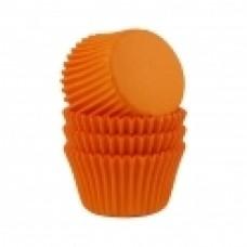 Kepimo krepšeliai keksiukams, orandžinės spalvos 30vnt