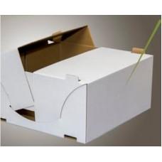 Dėžė tortui 24,5x24,5x12cm