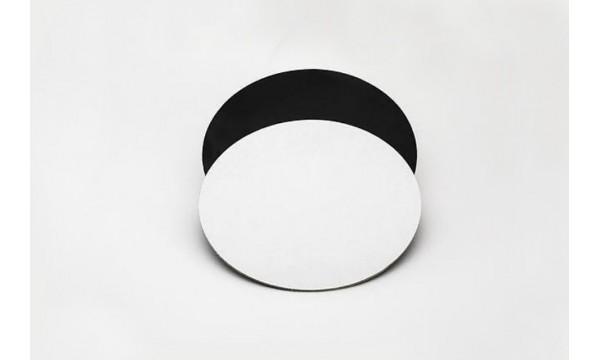 Trisluoksniai padėkliukai juodi/balti