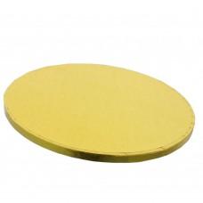 Auksiniai apvalūs torto padėkliukai 13mm storio