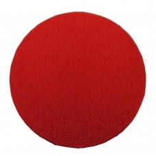 Raudoni apvalūs padėkliukai tortui 13mm storio