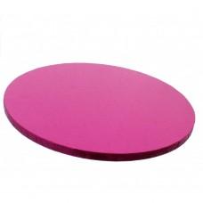 Rožiniai apvalūs padėkliukai tortui 13mm storio