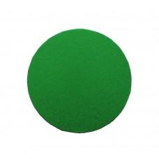 Žali apvalūs torto padėkliukai 13mm storio