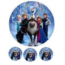 Valgomas paveikslėlis  Ledo šalis- Frozen