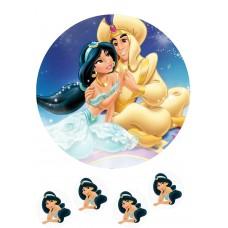 Valgomas paveikslėlis Aladinas- Jasmina