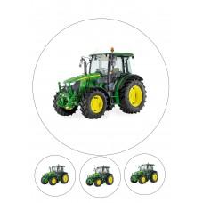 Valgomas paveikslėlis Traktorius John Deere