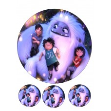 Valgomas paveikslėlis  Sniego vaikis