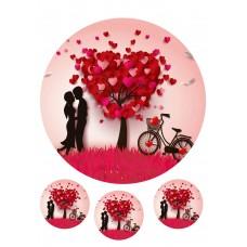 Valgomas paveikslėlis Meilė - meilės medis