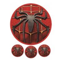 Valgomas paveikslėlis Spiderman - Žmogus voras