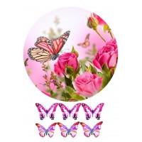 Valgomas paveikslėlis, Gėlės moterims