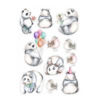 Valgomas paveikslėlis, Pandos figūrėlės