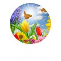 Valgomas paveikslėlis, Pavasario gėlės moterims