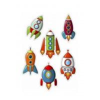 Valgomas paveikslėlis, Raketos figūrėlės